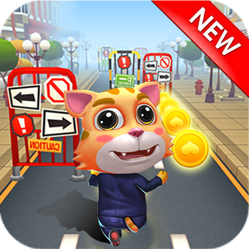 Cat Run – My Tom Subway Surf & Cat Talking