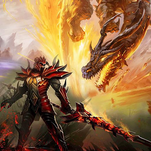 '.Dragons War Legends - Raid shadow dungeons.' pour pc et mac