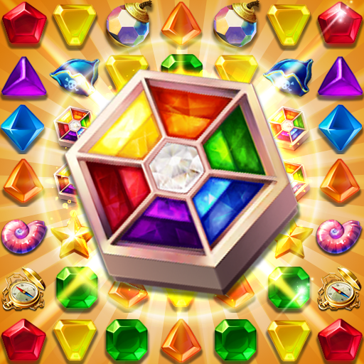 Jewels Fantasy : Quest Match 3 Puzzle