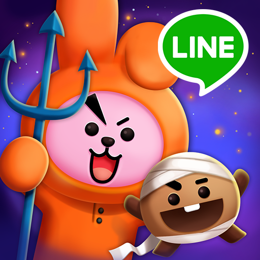 LINE HELLO BT21 A puzzle game with BT21 faces!