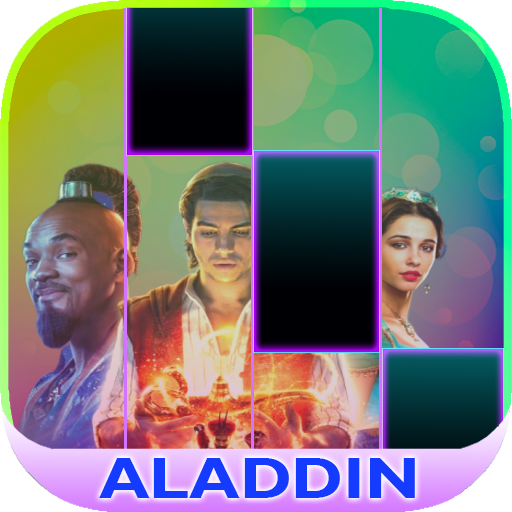 Magic Aladdin Piano Tiles