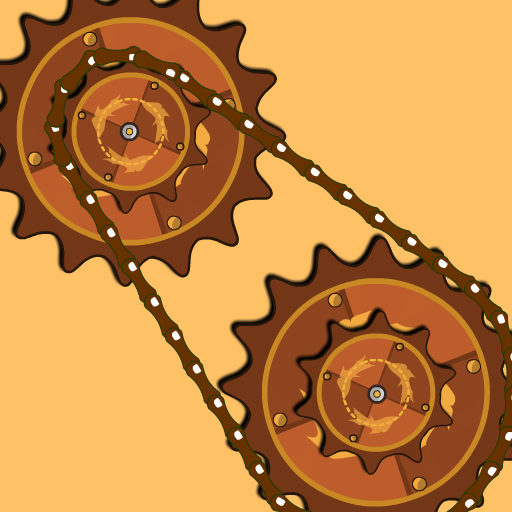 Steampunk Idle Spinner: roues dentées et machines
