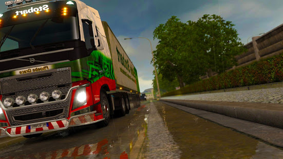 Télécharger 3D Euro Truck Driving Simulator Real pc
