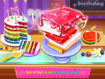 Télécharger Birthday Cake Design Party - Bake, Decorate & Eat! pc