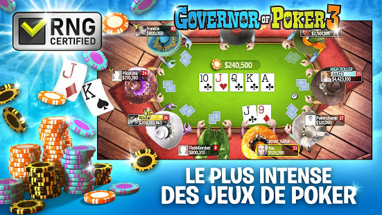 Télécharger Governor of Poker 3: Tournoi Texas Holdem En Ligne pc