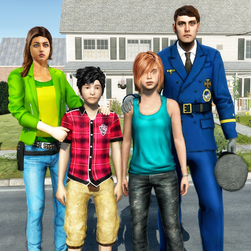 Virtual Police Dad Simulator : Happy Family Games